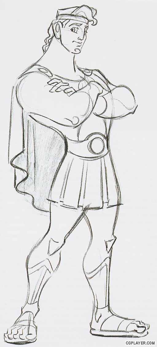 迪士尼王子手绘