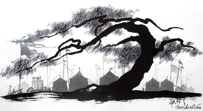 花木兰 美术总监手稿1