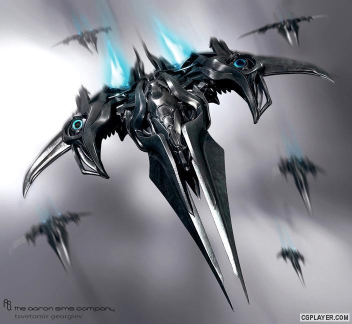 《变形金刚3》概念设计师作品欣赏